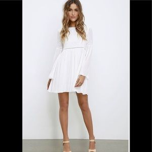 Forever 21 Contemporary White Lace Dress